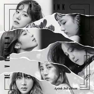 "Album art for APink's album ""Pink Revolution"""