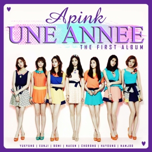 "Album art for Apink's album ""Une Annee"""