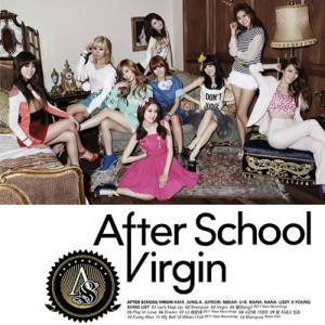 "Album art for After Schools album ""Virgin"""