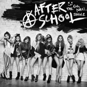 "Album art for After School's album ""First Love"""