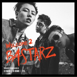 "Album for Block B Bastarz's album ""Welcome 2 Bastarz"""