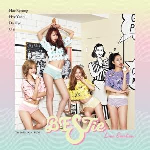 "Album art for BESTie's abum ""Love Emotion"""
