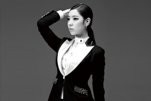 "Brave Girls' Eunyoung promotional picture for ""Re-Issue""."