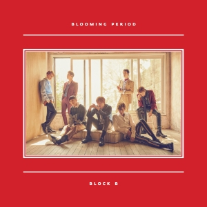 "Album art for Block B's album ""Blooming Period"""