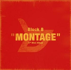 """Album art for Block B's album """"Montage"""""""