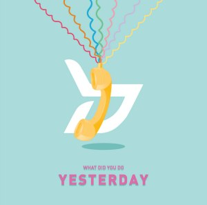 "Album art for Block B's album ""Yesterday"""