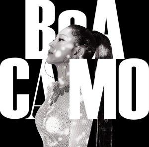 "Album art for BoA's album ""Camo"""