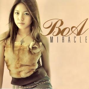 "The albm art for BoA's album ""Miracle"""