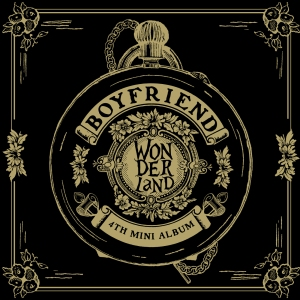 "Album art for Boyfriend's album ""Boyfriend In wonderland"""