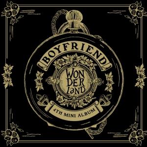 """Album art for Boyfriend's album """"Boyfriend In wonderland"""""""