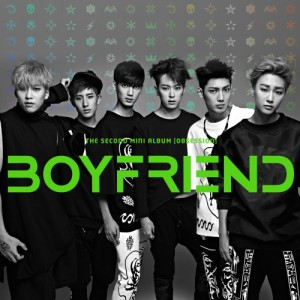 "Album art for Boyfriend's album ""Obsession"""