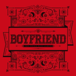 "Album art for Boyfriend's album ""Witch"""