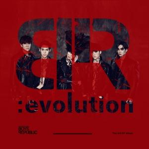 """Album art for Boys Republic's album """"BR:Evolution"""""""