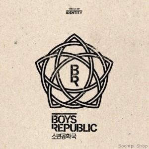 """Album artwork for Boy's Republic's album """"Identity"""""""