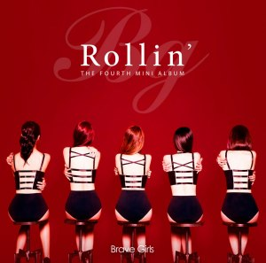 "Album art for Brave Girl's album ""Rollin'"""