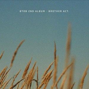"""Album art for BTOB's album """"Brother Act"""""""