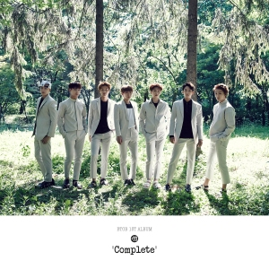 "Album art for BTOB's album ""Complete"""