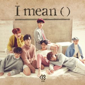 "Album art for BTOB's album ""I Mean"""