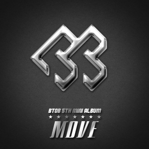 "Album art for BTOB's album ""Move"""