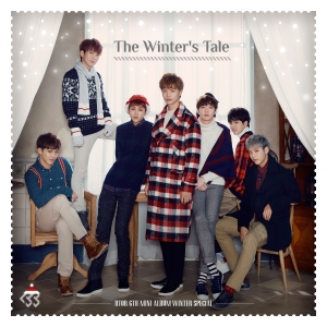 "Album art for BTOB's album ""The Winter's Tale"""