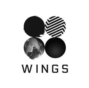 "Album art for BTS's album ""Wings"""