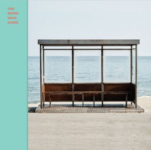 "Album art for Bulletproof Boyscouts (BTS)'s album ""You Never Walk Alone"""