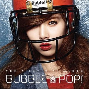 "Album art for Hyuna's (4Minute) album ""Bubble Pop"""