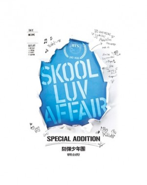 "Album art for Bulletproof Boyscouts (BTS)'s album ""Skool Luv Affair: Special Editon"""