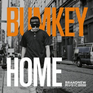 "Album art for Bumkey's album ""Home"""