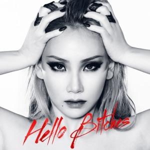 "Album art for CL (2NE1)'s album ""Hello Bitches"""