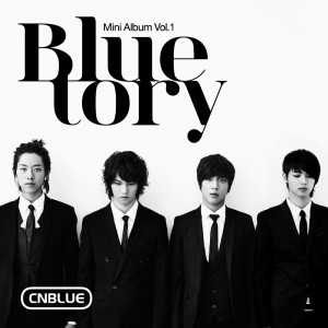 "Album art for CNBlue's album ""Bluetory"""