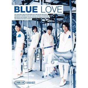 """Album art for CNBLUE's album """"Blue Love"""""""