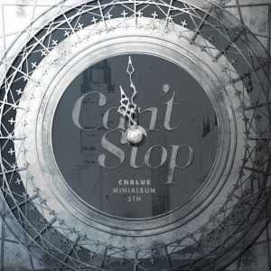 "Album art for CNBLUE's ablum ""Can't Stop"""
