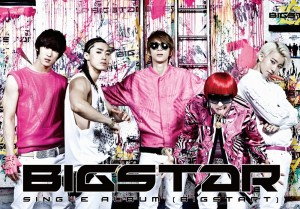 "Album art for BIGSTAR's album ""Bigstart"""