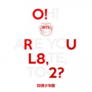 "Album art for BTS (Bulletproof Boyscouts) album ""R U L8 2"""