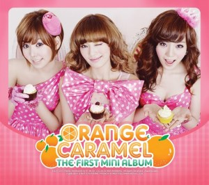"Album art for Orange Caramel's ""1st Mini Album"""