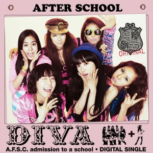 "The album art for After School's album ""Diva"""