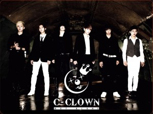 "Album art for C-Clown's album ""Not Alone"""