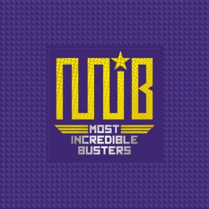 "Album art for M.I.B's album ""Most Incredible Busters"""