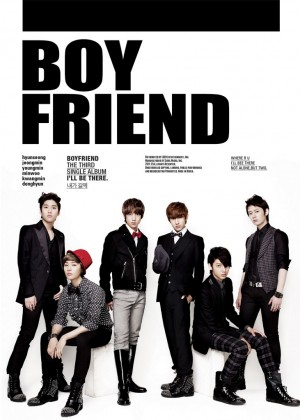 "Album art for Boyfriend's album ""I'll Be There"""