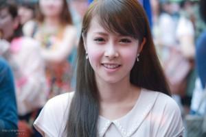 Crayon Pop's Japanese promotion member Arisa.