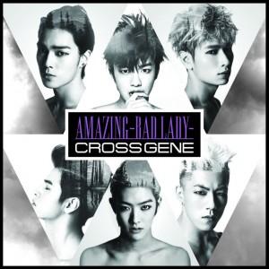 "Album art for Cross Gene's album ""Amazing -Bad Lady-"""