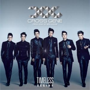 """Album art for Cross Gene's album """"Timeless: Begins:"""""""