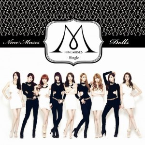 "Album art for 9Muses's album ""Dolls"""