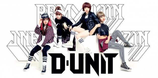 "D-UNIT's ""Talk to My Face"" promotional picture."
