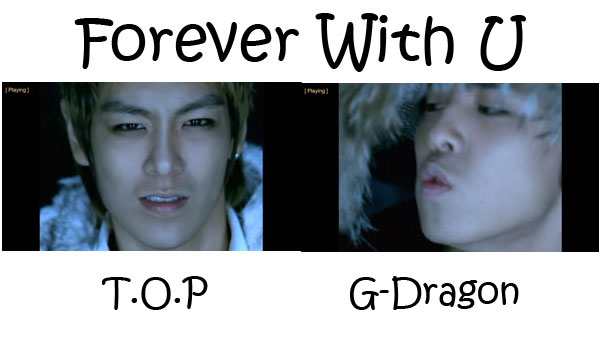 "The members of Big Bang in the ""Forever With U"" MV"