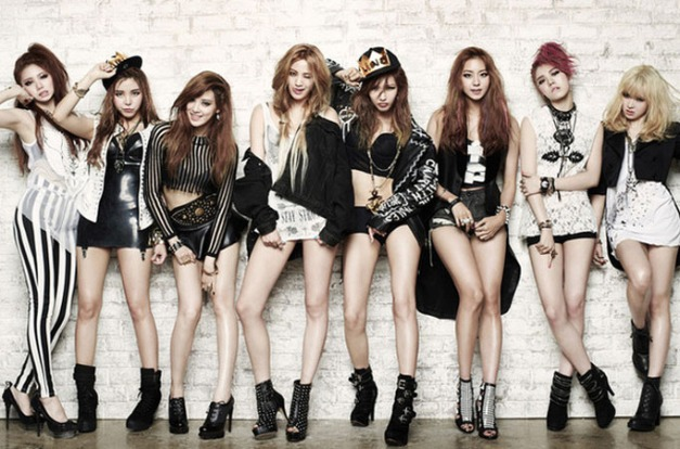 "After School's ""First Love"" promotional picture."