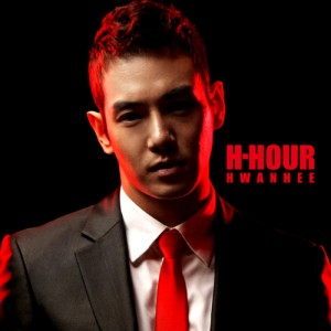 "Album art for Hwanhee's album ""H-Hour"""