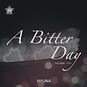"Album art for HyunA's album ""A Bitter Day"""