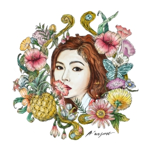 "Album art for HyunA's album ""A`wesome"""